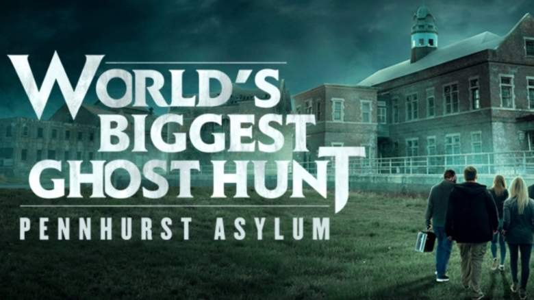 The Worlds Biggest Ghost Hunt Official Logo