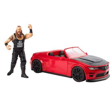 Braun Stroman and a destructible car
