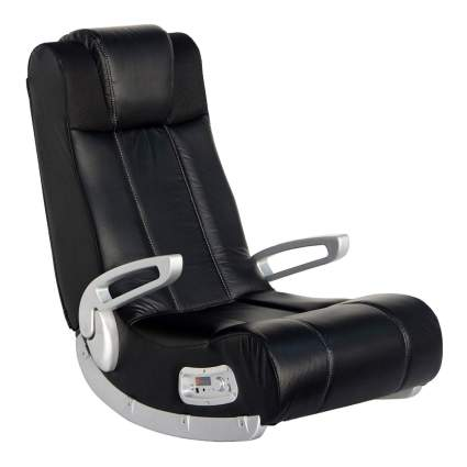 X Rocker Rocking Floor Chair w/Speakers