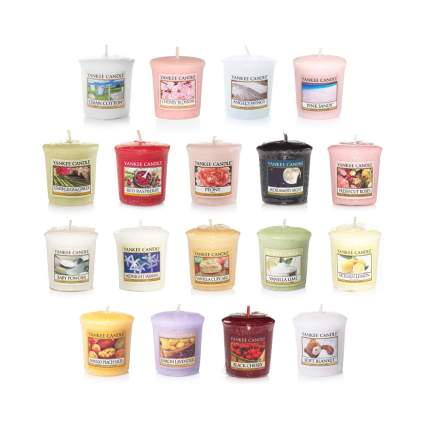 18 piece votive candle sampler