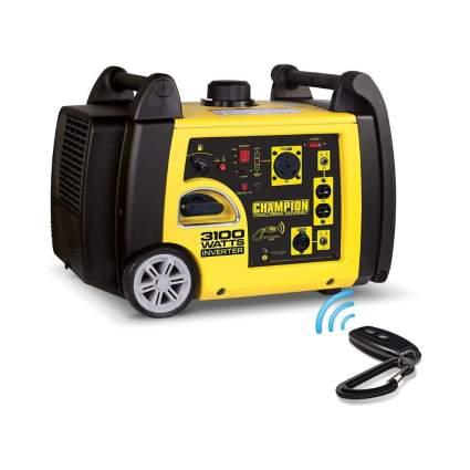 $100 Off Champion 3100-Watt RV Ready Portable Inverter Generator with Wireless Remote Start