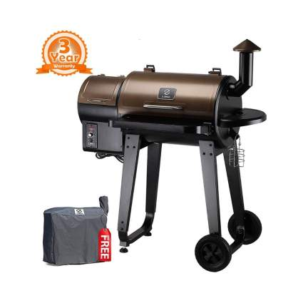 $114 Off Z Grills ZPG-450A 2019 Upgrade Model Wood Pellet Grill & Smoker