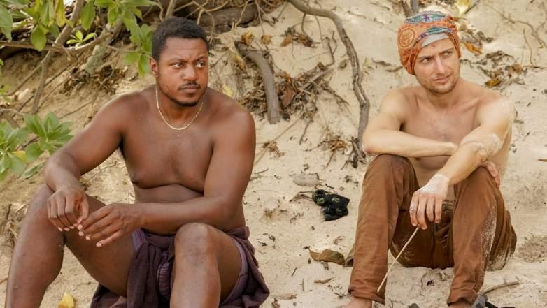 Jamal Shipman and Jack Nichting on Survivor