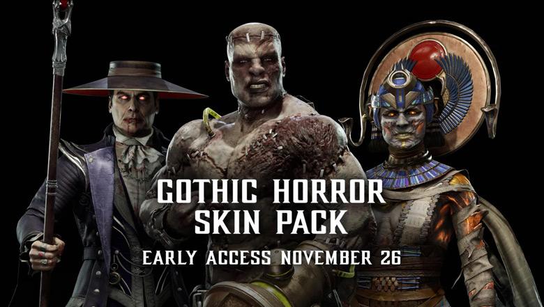 MK 11 Gothic Horror Skin Pack