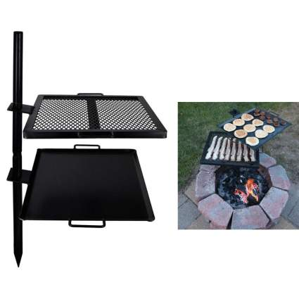 30% Off GameMaker Gravity Grill Open fire Camping Grill