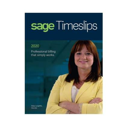 40% Off Sage Software Timeslips 2020 Time and Billing 1-User