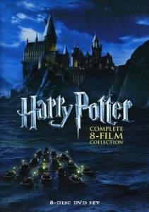 harry potter dvd set