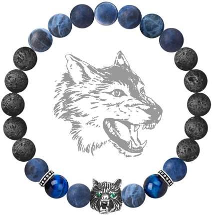 Viking Wolf Head Charm Healing Bracelet
