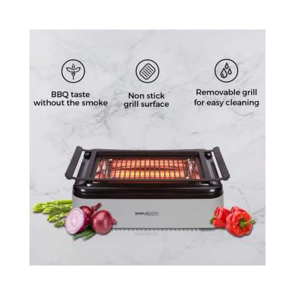 69% Off Simple Living Advanced Indoor Smokeless BBQ Grill