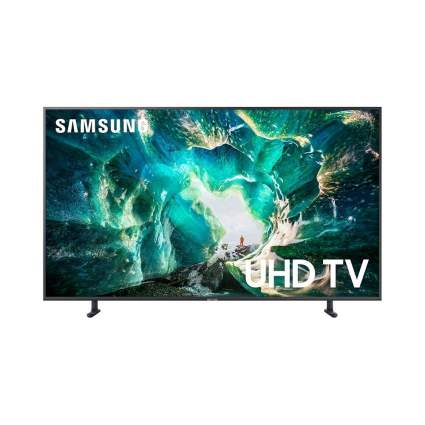 $700 Off Samsung UN65RU8000FXZA Flat 65-Inch 4K 8 Series Ultra HD Smart TV with HDR and Alexa Compatibility (2019 Model)