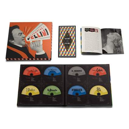 Blu-ray disc collection of Fellini films