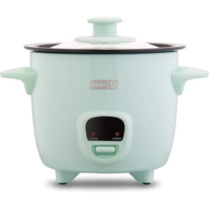 Light aqua rice cooker