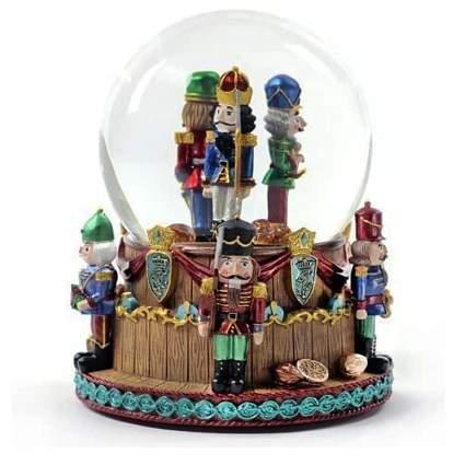 nutcracker snow globe