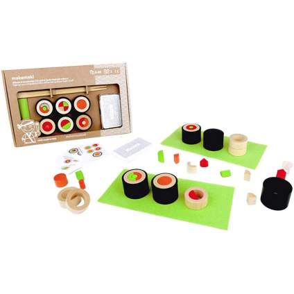 Sushi dexterity board game