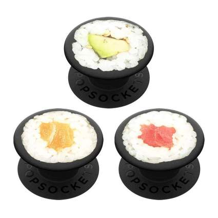 Popsockets that look like sushi rolls