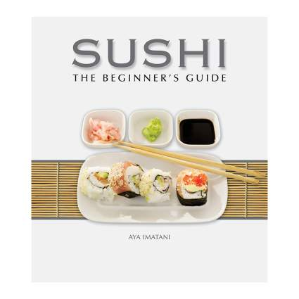 Book on how to make sushi