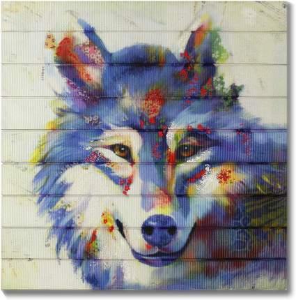 Wolf Modern Wall Art