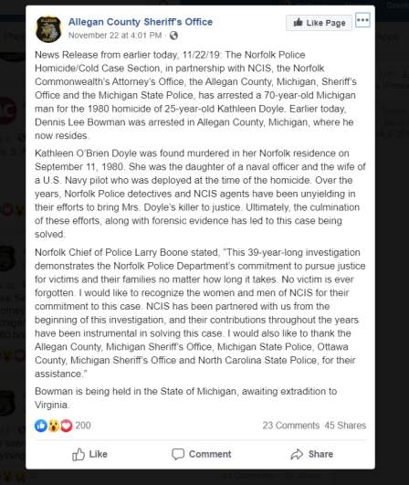 Allegan County Police