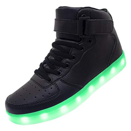 APTESOL Kids Youth LED Light Up Sneakers