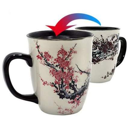 Mug with plum blossoms