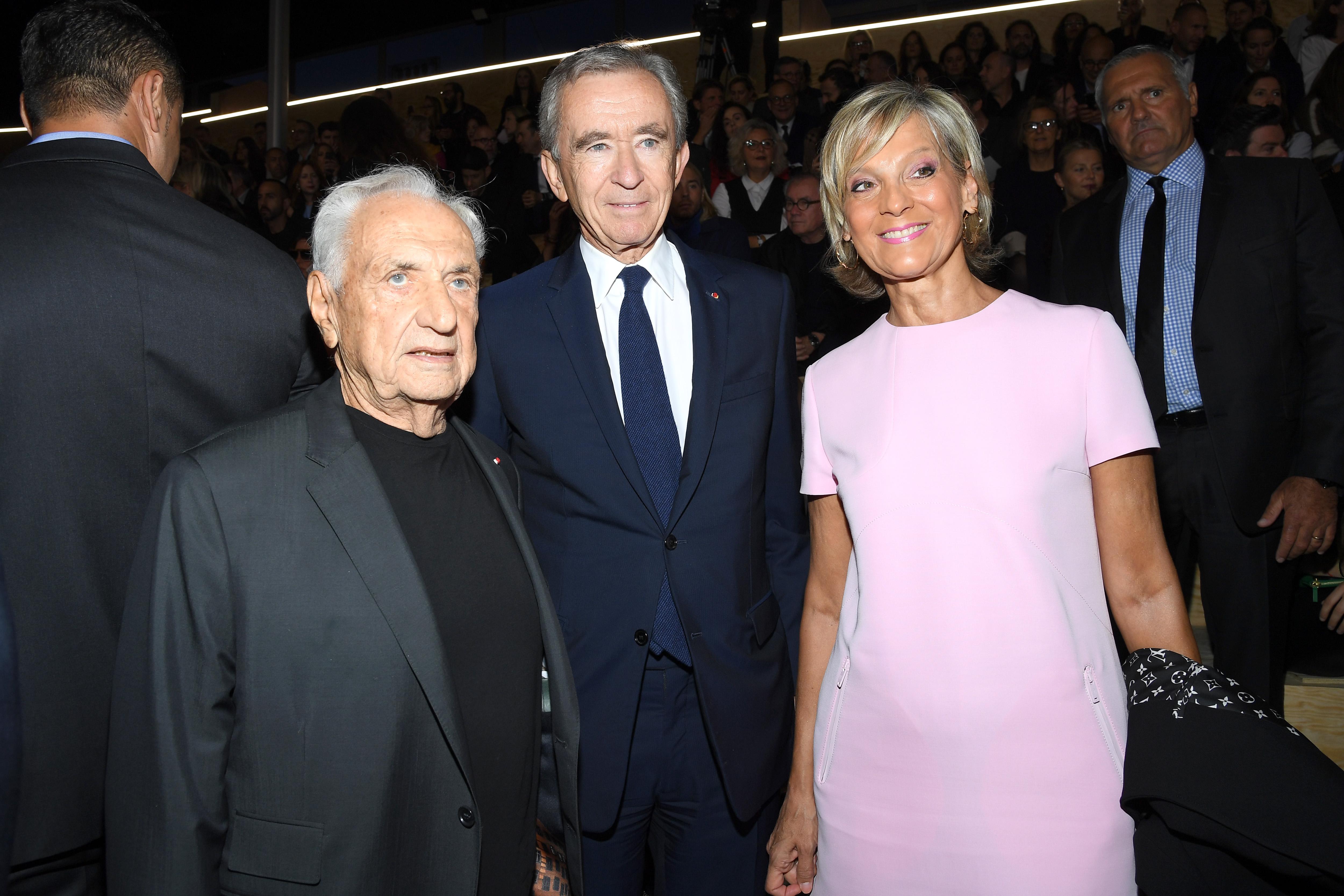 Bernard Arnault and Helene Mercier-Arnault