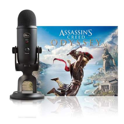 Blue Yeti Blackout and Assassin's Creed Odyssey Bundle