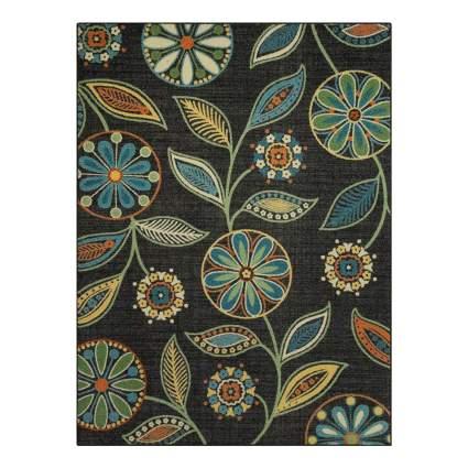 bohemian floral area rug