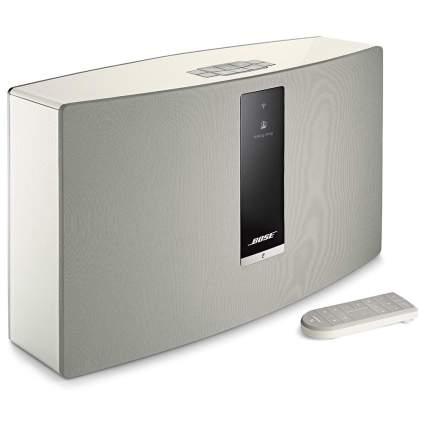 Bose speaker in silver