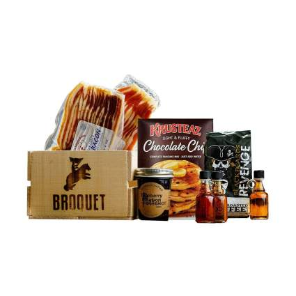 Broquet Manly Breakfast Essentials Gift Crate