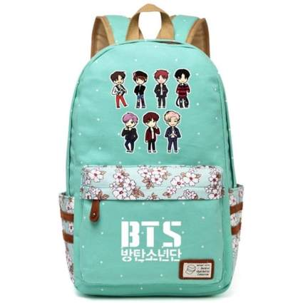 BTS Cartoon Backpack