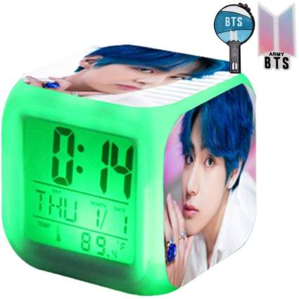 BTS Digital Clock