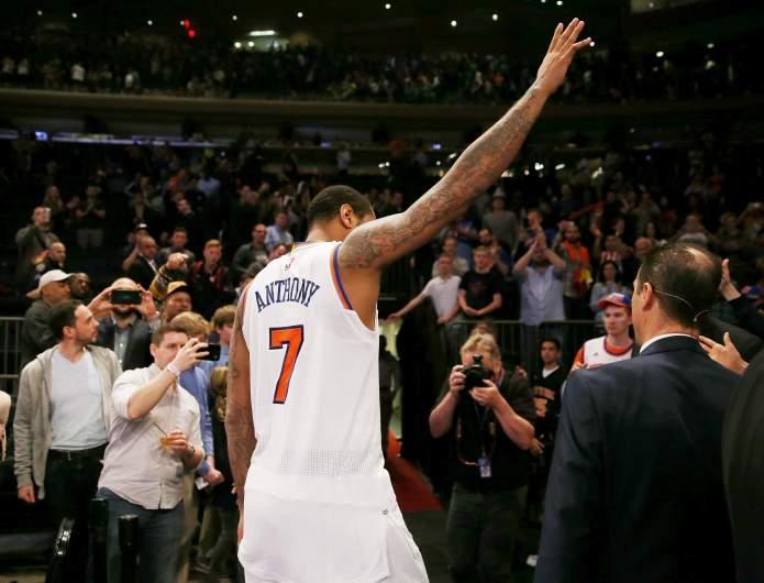 Carmelo Anthony NY Knicks
