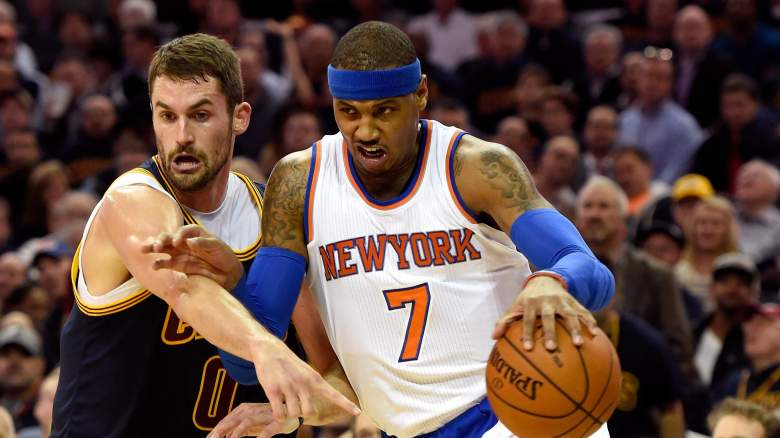Kevin Love Carmelo Anthony