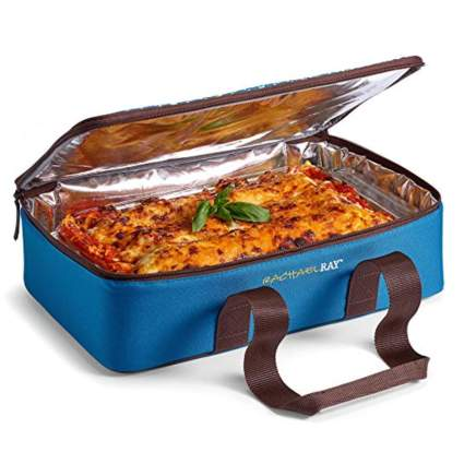insulated casserole dish carrier