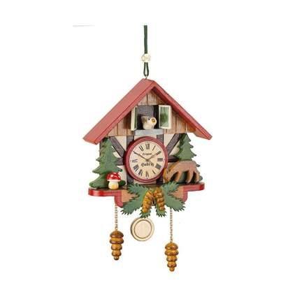 cuckoo clock christmas ornament