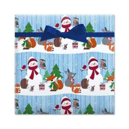 Current Forest Critters Jumbo Rolled Christmas Gift Wrap
