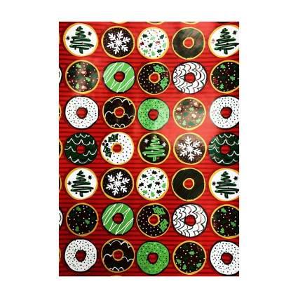 cynthia rowley holiday doughnuts christmas wrapping paper