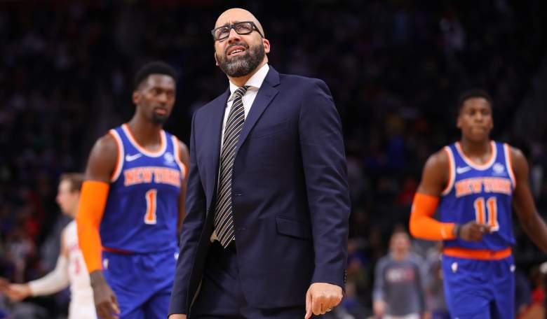 Coach David Fizdale, Knicks