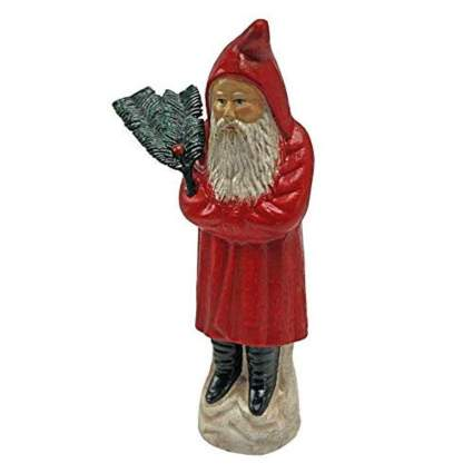 Kris Kringle die cast iron coin bank