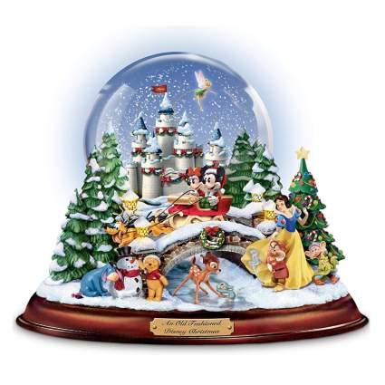 disney characters snow globe
