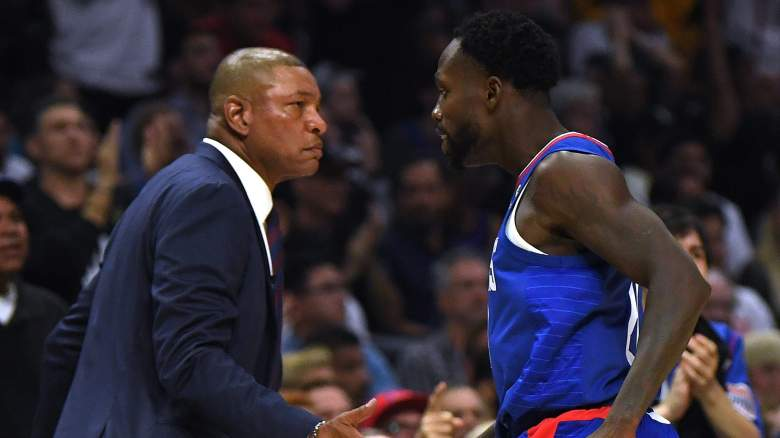 Patrick Beverley and Doc Rivers