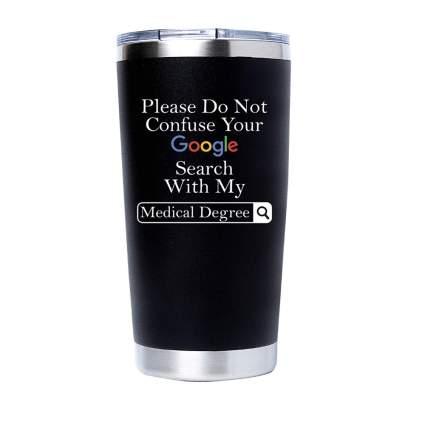 doctor insulated travel mug