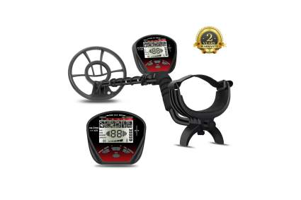 DR.ÖTEK Lightweight Metal Detector with LCD Screen & Waterproof Coil