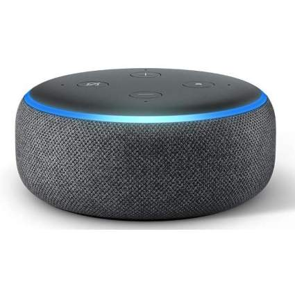 Black Amazon Echo Dot