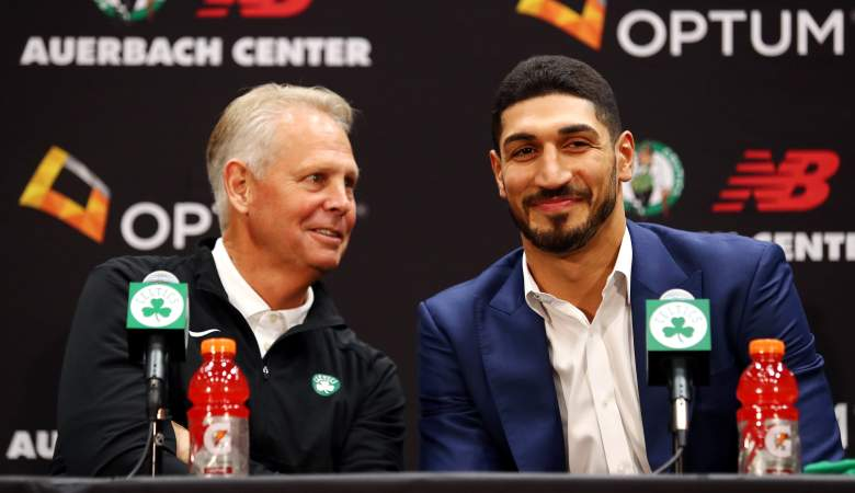 Danny Ainge and Enes Kanter, Celtics