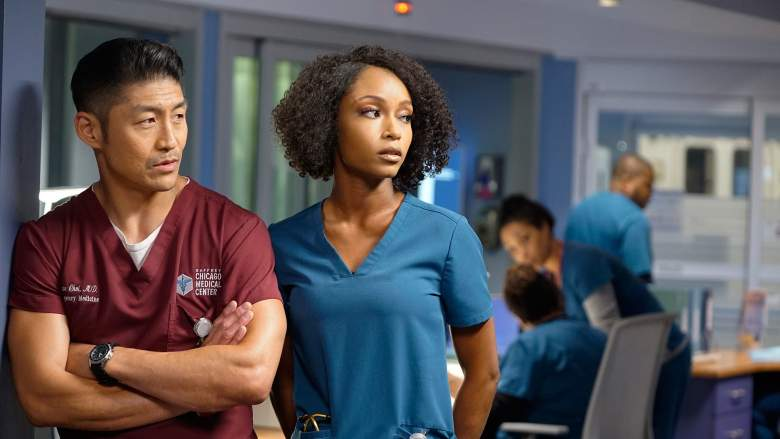 Chicago Med's Ethan and April are having problems in their relationship.