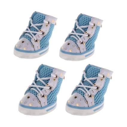 Flameer Blue Mesh Dog Shoes