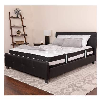memory foam and coil spring mattress