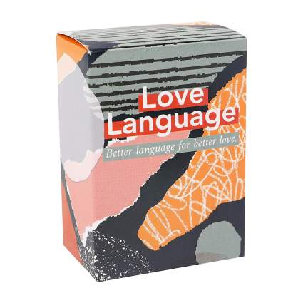 Love Language game box
