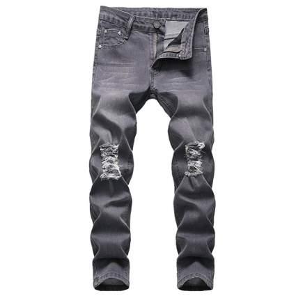 Fredd Marshall Boy's Skinny Fit Ripped Jeans